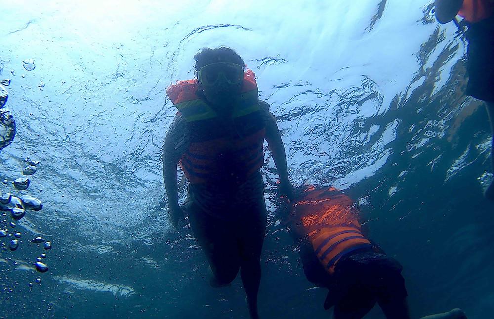 snorkling wisata belitung