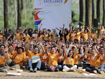 LPS Gelar Employee Outing Di Bandung