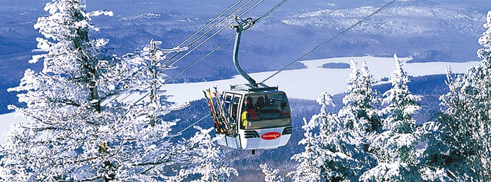 Gondola winter Tremblant