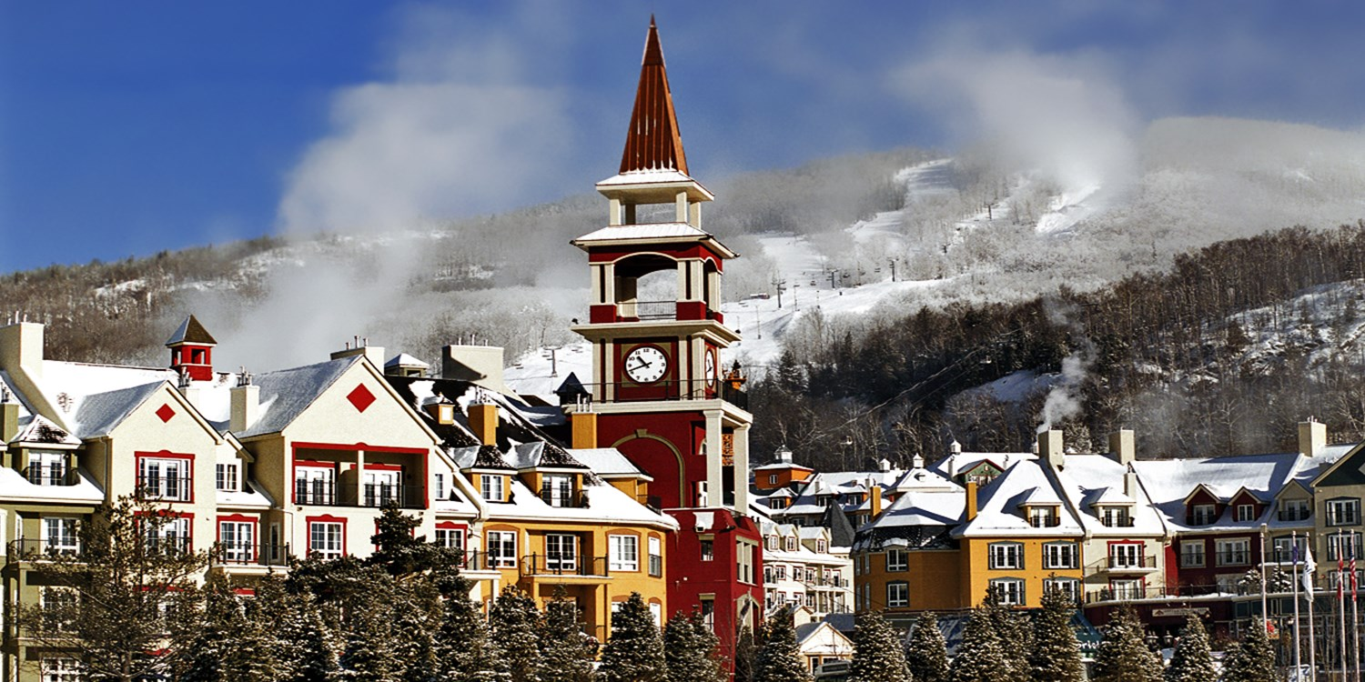 Horloge village Tremblant