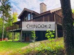 Façade Chinook 2 près de Tremblant
