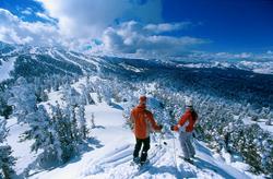 Skieurs à Tremblant