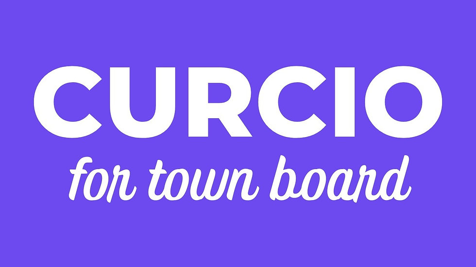 Curcio for Town Board Car Magnet