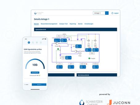 Digitalisierung der industriellen Wasseraufbereitung