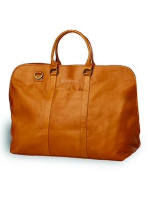 Leather Weekender Satchel