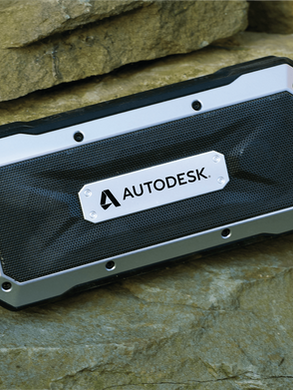 Corporate Boulder Waterproof Outdoor Bluetooth Speaker