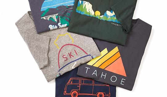 Marine Layer Soft Custom Tees