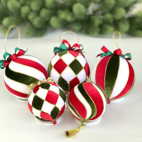 Подарочный набор елочных шаров «Пьеро»