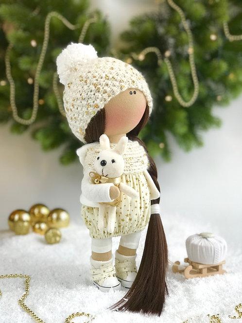 Интерьерная текстильная кукла Thea (Теа)