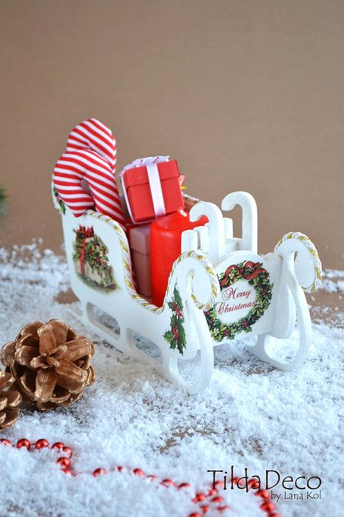 Рождественские Сани (маленькие)
