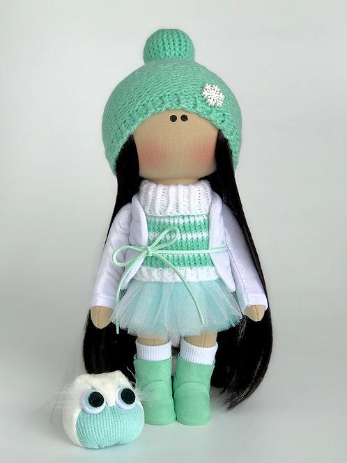 Интерьерная текстильная кукла Elli (Элли)