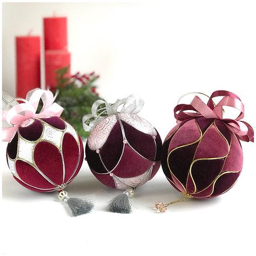 Набор новогодних шаров «Глинтвейн»