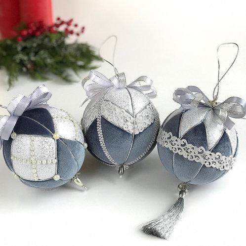 Набор новогодних шаров  «Метелица»