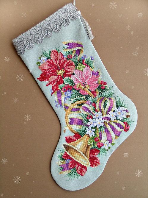 Рождественский сапожок (носок)