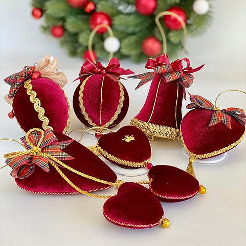Набор елочных шаров «Рождество»