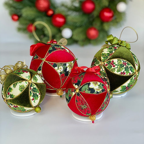 Набор елочных шаров «Подарок Санты»