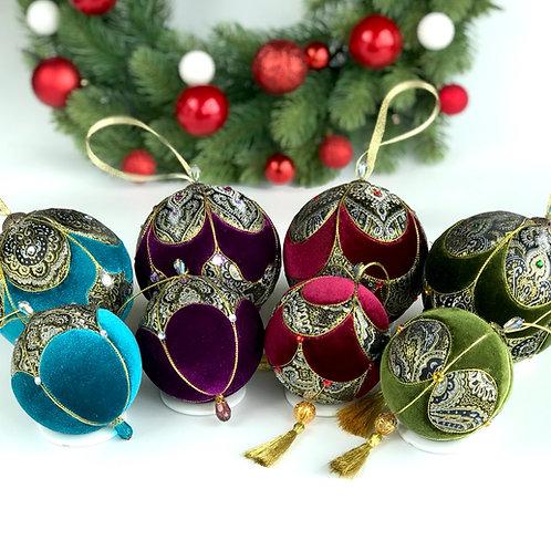 Набор новогодних шаров «Восточные сказки»
