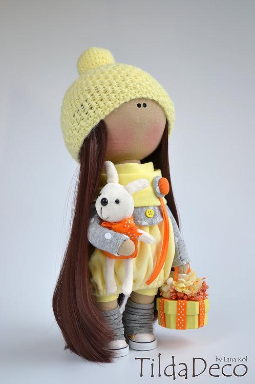 Интерьерная текстильная кукла Sunny