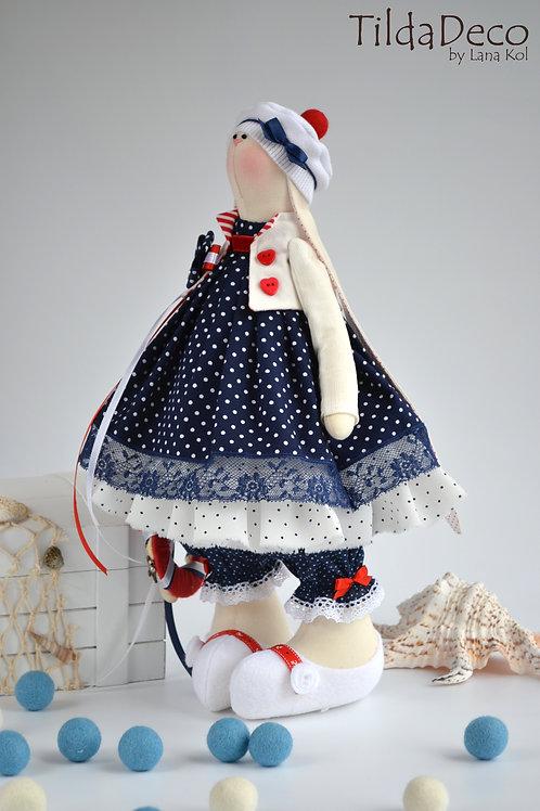 Текстильная зайка Nicole