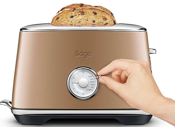 Sage By Heston Blumenthal BTA735BCM The Toast Select Luxe Toaster, 2400 W - Burn
