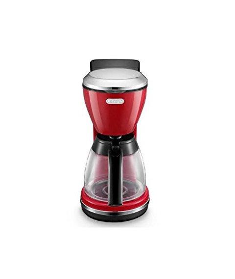 Delonghi Icona Drip Coffee Machine 125 L 1000 W Red