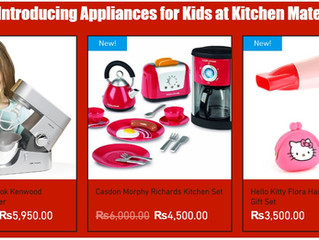 Appliances for Kids Coming Soon!