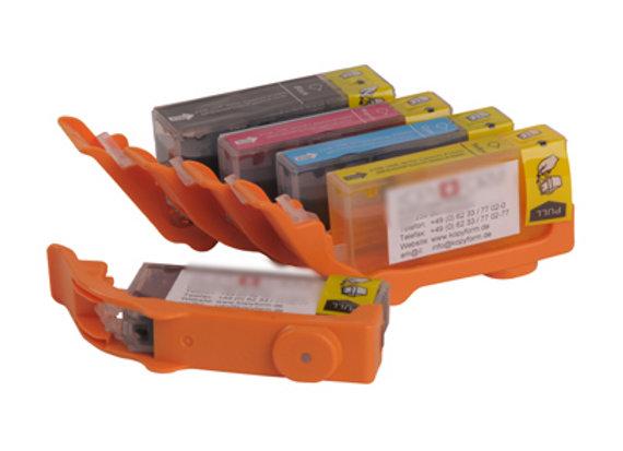 Canon MG5650, IP7250, MG6650 Edible Ink Cartridges Full Set