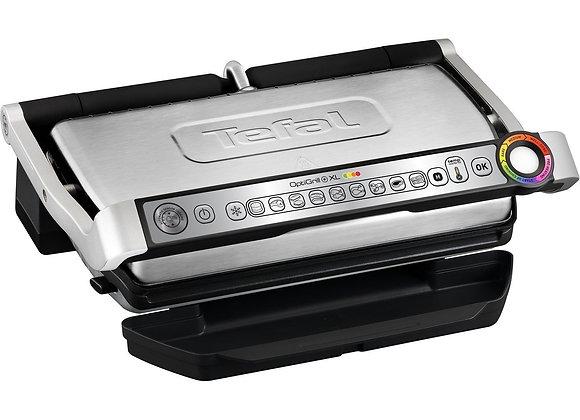 Tefal GC722D40 OptiGrill XL Health Grill, 2000 Watt, Stainless Steel