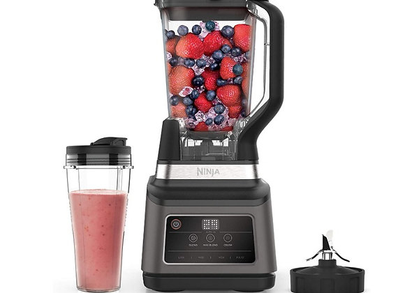 Ninja 2-in-1 Blender with Auto-iQ (BN750UK) 1200 W, 2.1 Litre Jug, 0.7 Litre Cup