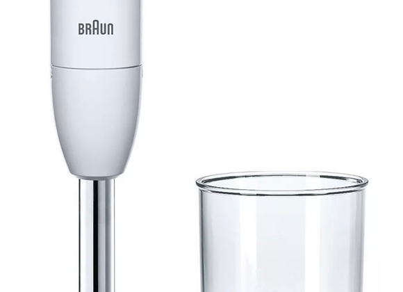 Braun MQ100 450W Curry Hand Blender - White.