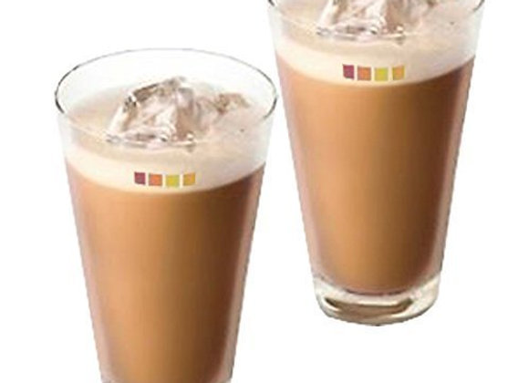 Set of 2 Nescafe Dolce Gusto Ice Cappuccino Coffee Glasses