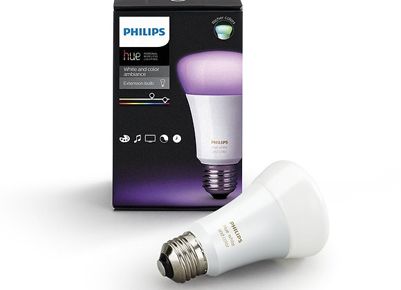 Philips Hue White and Colour Ambiance Wireless lighting 10 W E27 Richer Colours