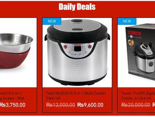 Daily Deals on Kitchen Appliances