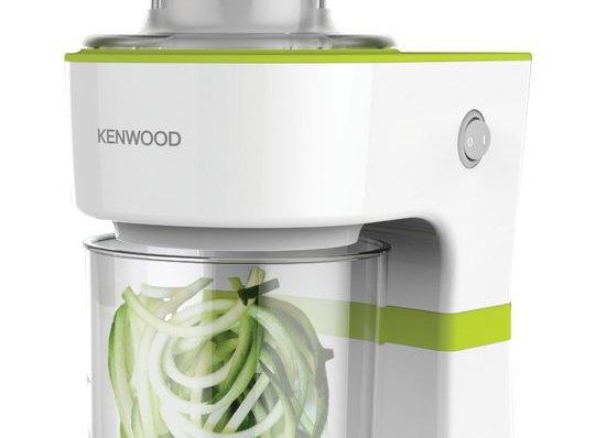 Kenwood 0W21610001 Electric Spiraliser, 0.5 L - White/Green