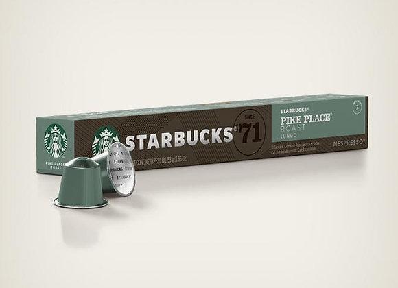 Starbucks by Nespresso Pike Place Roast 10pk