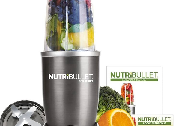 NUTRiBULLET 600 Series Starter Kit - Nutrient Extractor High Speed Blender - 600