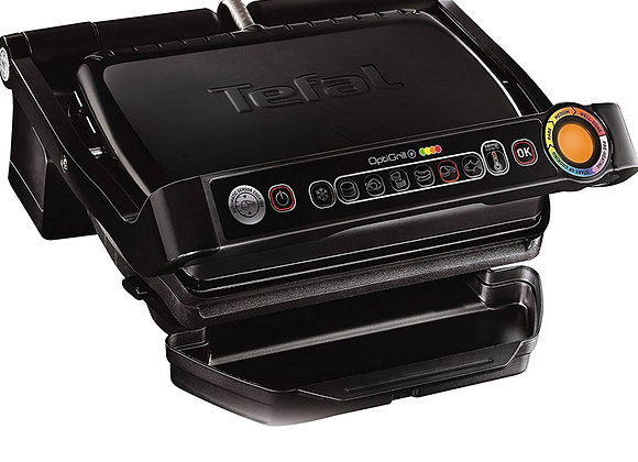 Tefal GC713D40 OptiGrill Plus Health Grill with Automatic Thickness/Temp Sensor