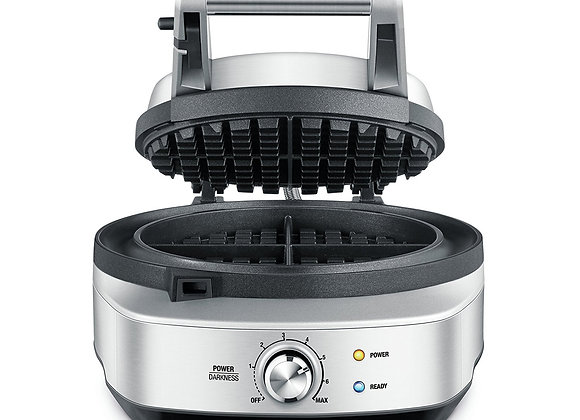 Sage by Heston Blumenthal BWM520BSS the No-Mess Waffle Maker - Silver