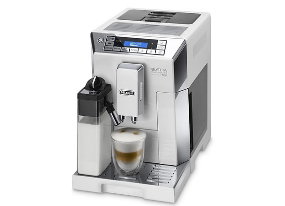 Delonghi Eletta Cappuccino TOP ECAM 45.760.W Bean to Cup Coffee Machine