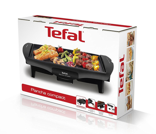 tefal plancha compact grill kitchenmate. Black Bedroom Furniture Sets. Home Design Ideas