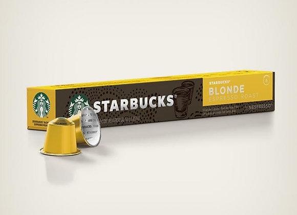 Starbucks by Nespresso Espresso Blonde Roast 10pk