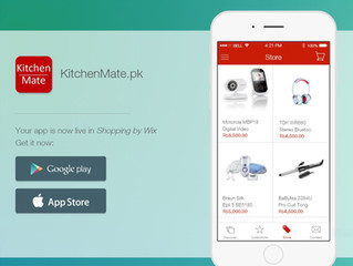 kitchenmate.pk Online Store App