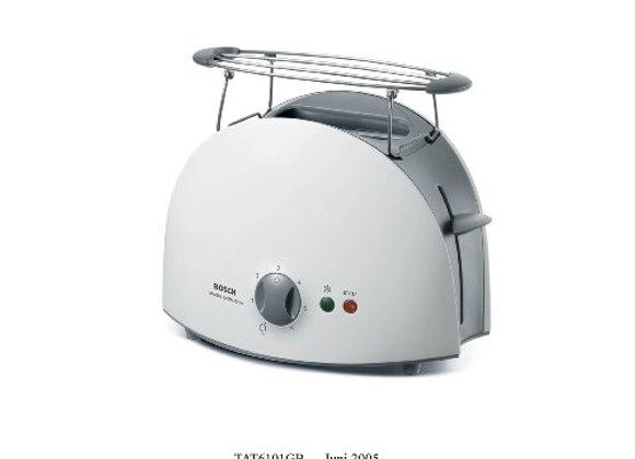 Bosch TAT6101GB 2 Slice Toaster White