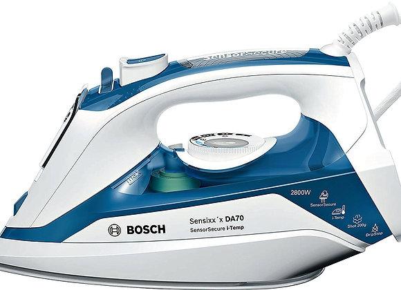 Bosch TDA7060GB Steam Iron with i-Temp, 2800 W - Blue/White