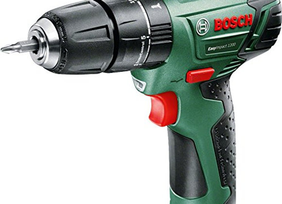 Bosch EasyImpact 1200 Cordless Combi Drill with Integrated 12 V Li-Ion Battery