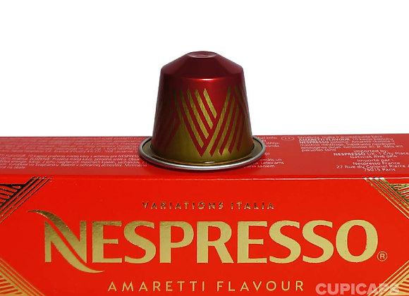 Nespresso Variations Italia Amaretti Flavour coffee Pods