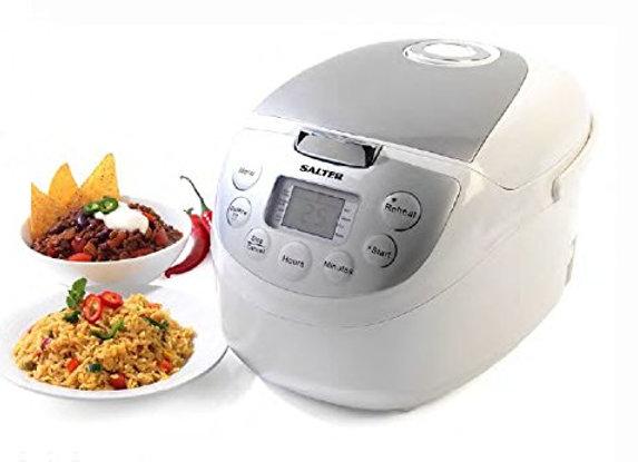 Salter Multi Cooker Fry Boil Slow Cooker 1.8Litre