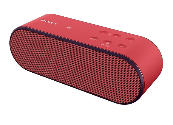 Sony SRS-X2 Wireless Speaker with NFC and Bluetooth - Red