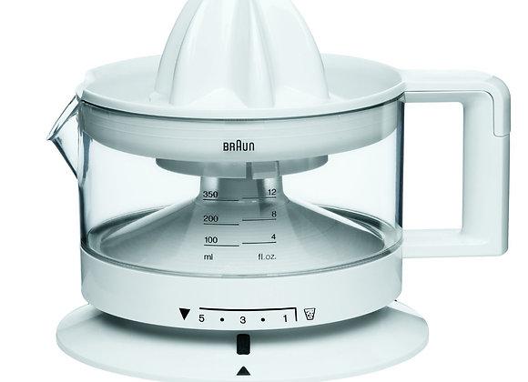 Braun Electric Citrus Press, 350 ml , 20 W, White