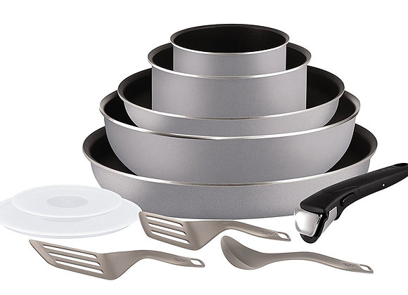 Tefal Ingenio 5 l2149902 Set of Frying Pans and Saucepans - Grey 11 pcs